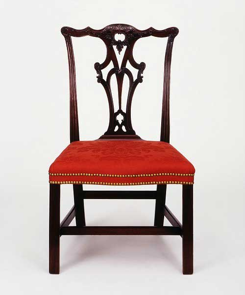 Ribband Back Chair by Chippendale