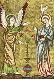 250px-Embroidered_bookbinding_13th_century_Annunciation