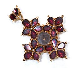 Garnets, and Diamonds, Can Be A Girl's Best Friend