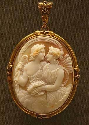 Cupid & Pschye Cameo British Museum