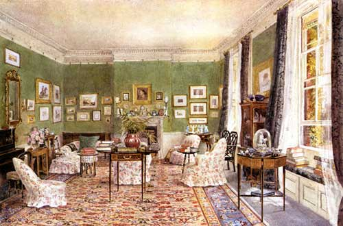 Canon A.S. Valpy's Drawing Room