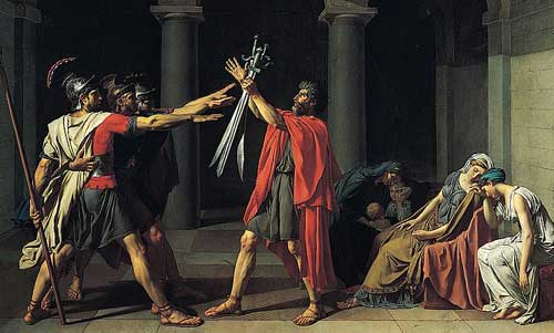 Jacques Louis David Oath of the Horatii