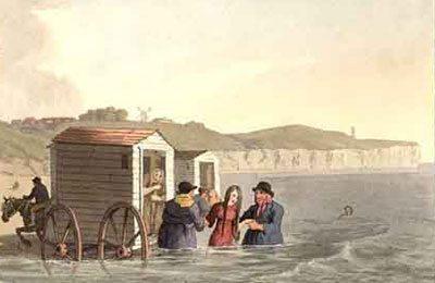 Sea Bathing England C19