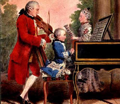 Mozart-&-Family