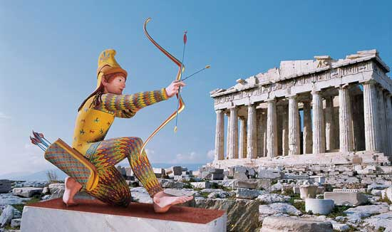 Archer-on-the-Acropolis