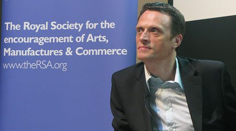 Matthew Taylor, CEO RSA at London
