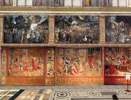 Raphael: Tapestries in the Sistine Chapel