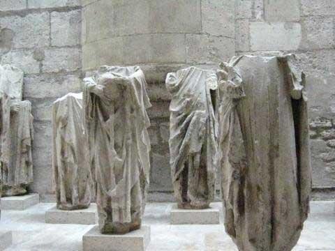 Roman remains, Cluny Museum Paris