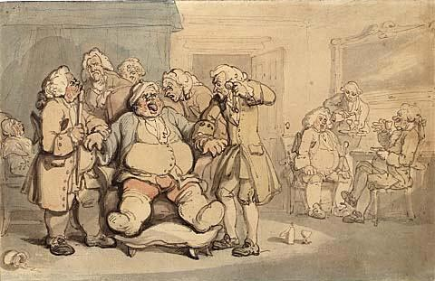Gout-by-Rowlandson