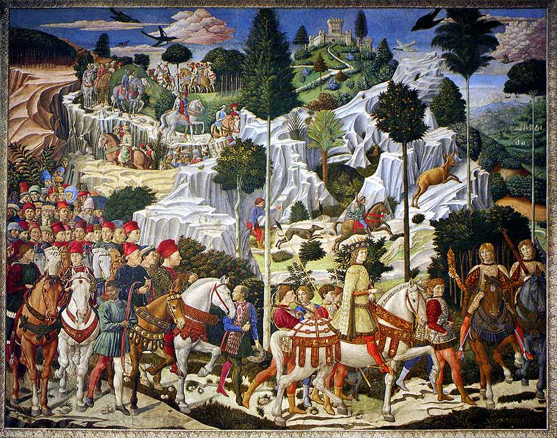 Medici Procession by Gozzoli