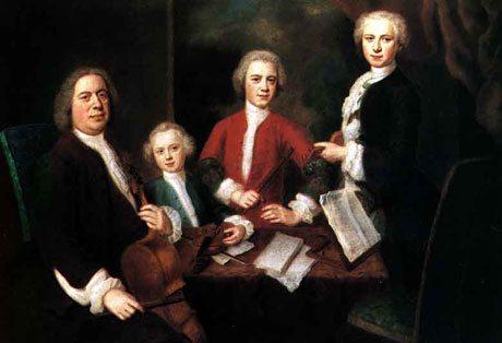 Johann Sebastian Bach and his sons