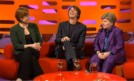 Sigourney Weaver, Sandy Tosvig and Brian Cox on Graham Norton' Show - The Red Couch