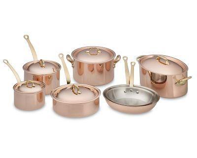 Copper Pans from Villedieu-les-Poeles