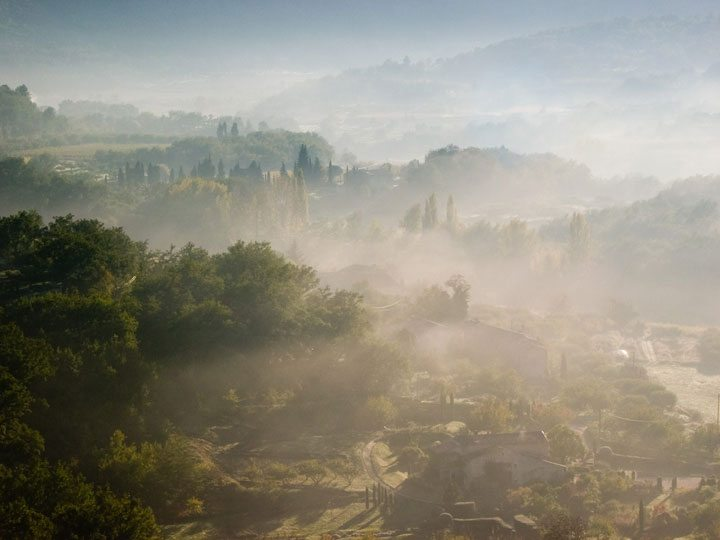 Mist in the Morning in the Luberon