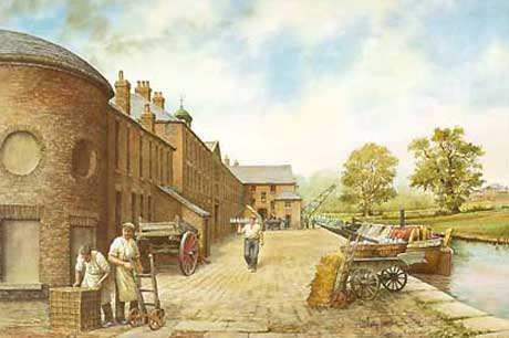 Painting of Etruria Works