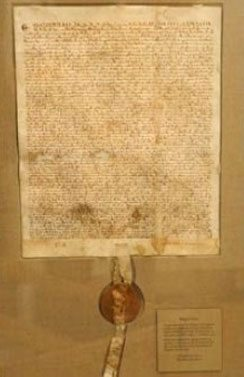 Magna Carta, a document of unrivaled importance in the history of the West
