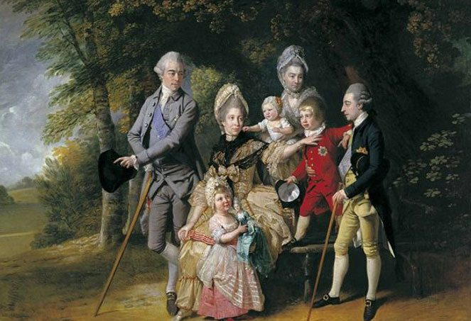 Queen-Charlotte-Children-and-Brothers