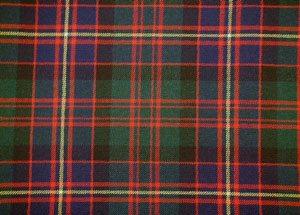 Ragazzi CLAN TIE MADE IN SCOTLAND Macpherson antica Tartan