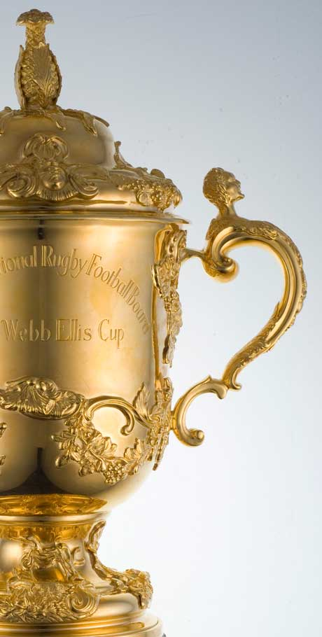 The Webb Ellis Cup – Iconic Symbol of Rugby World Cup, 2015