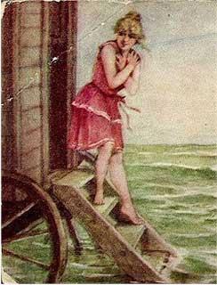 Rush into the sea…