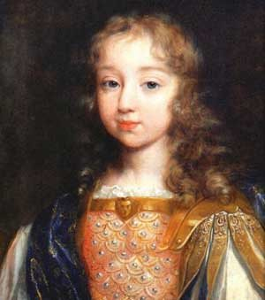 Louis XIV, aged eight years