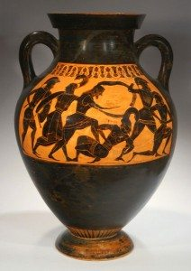 Ancient Black & Red Figure Pottery