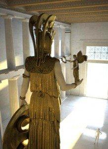 Athena, Goddess with Grey Eyes