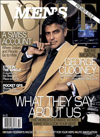 Men in Vogue – Downton Abbey to Draper & Clooney to Caffrey
