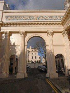 John Nash Terraces at London