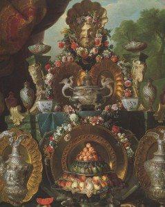 Flower Decor & Louis XIV