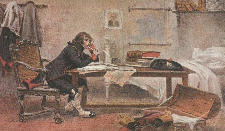 Napoleon-Studying