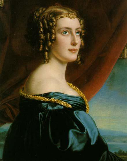 Jane Digby, Joseph Karl Stieler (1831)