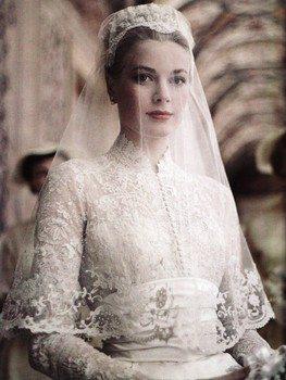 Diamond Dresses, Royal Wedding Style