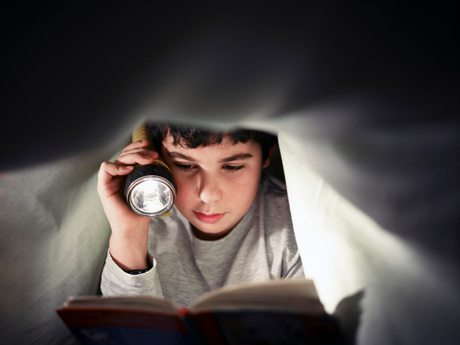 Reading under Bedclothes