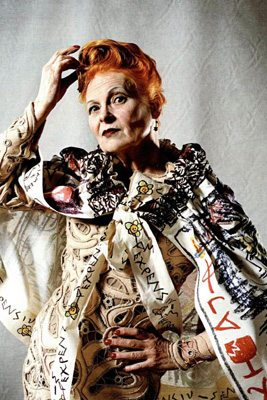 Vivienne Westwood – Grand Dame and Queen of Fashion