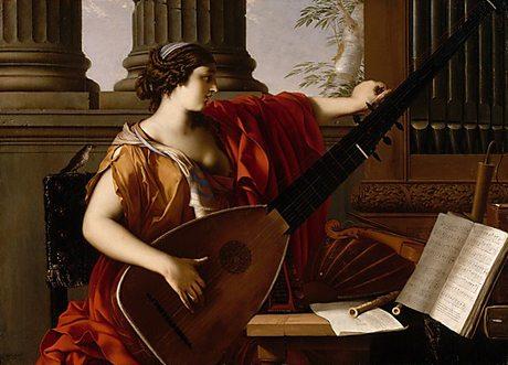 Allegory of Music by Laurent de La Hyre (French, Paris 1606-1656 Paris) painted 1649 courtesy The Metropolitan Museum of Art, New York