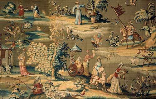 Rare-Chinoiserie-Tapestry-V-&-A-Museum