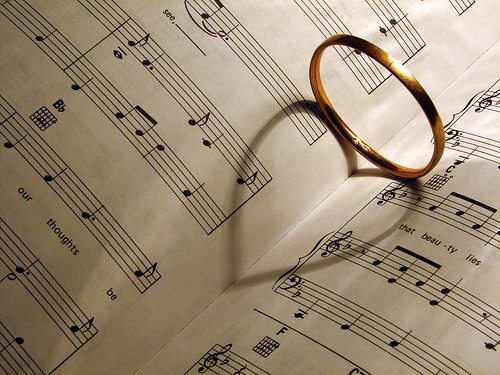 Music & Love Ring on Music