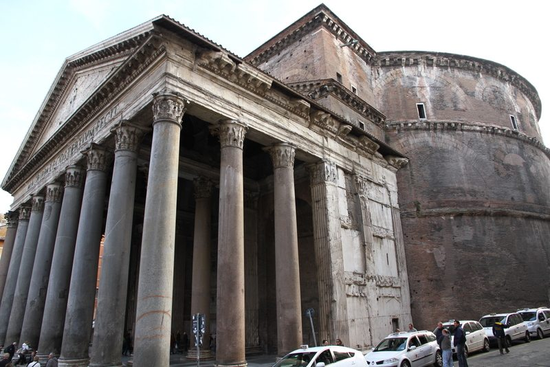 The Portico An Ancient Architectural People Protector