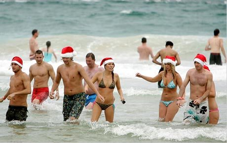 Christmas-at-Beach