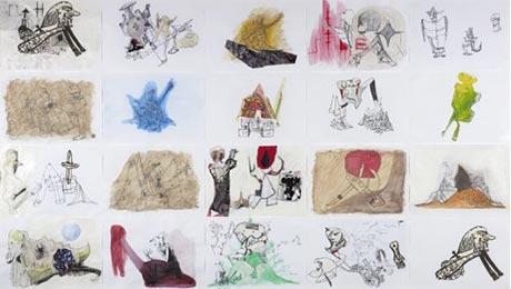 Gareth Sansom, 'Made in Wadeye' – Dobell Prize for Drawing