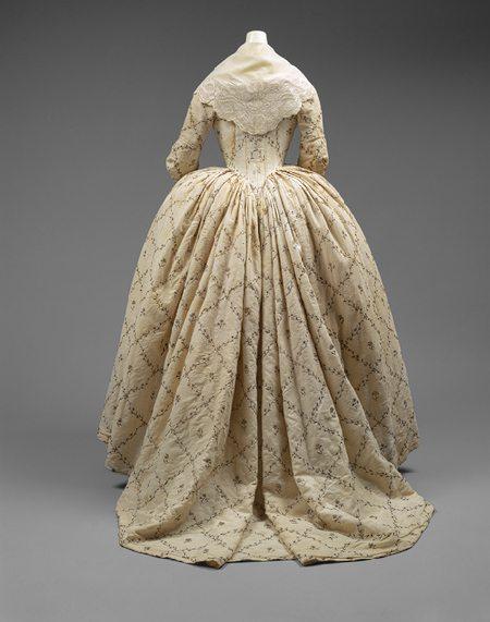 late 18th century womens dresses