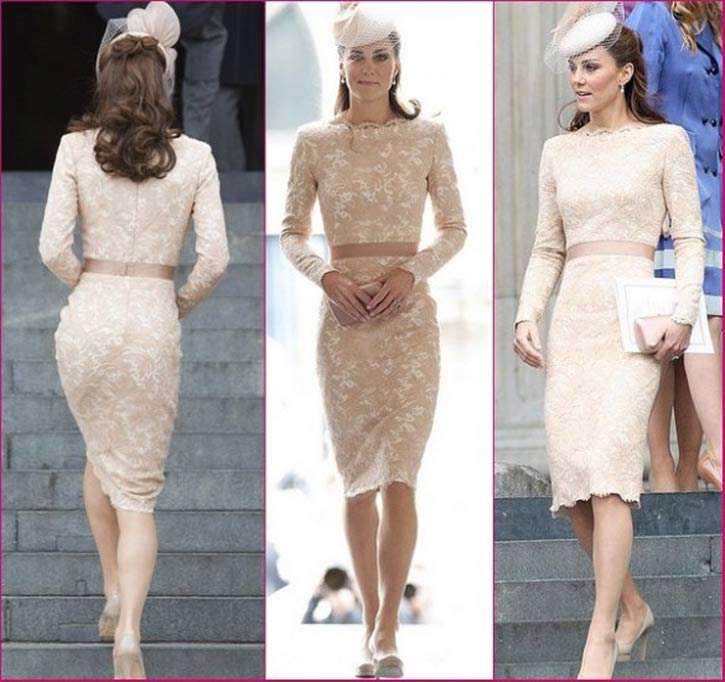 Kate-In-Alexander-McQueen-Lace