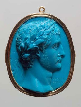 Glass cameo of Herophilos, 20 AD courtesy Kunsthistorisches Museum (KHM), Germany
