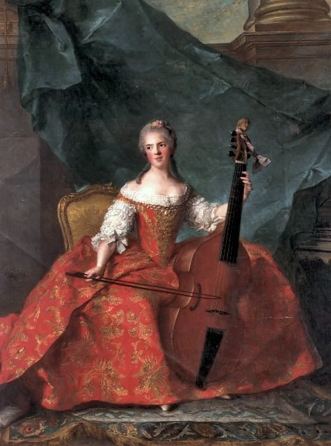 Lady with Viol