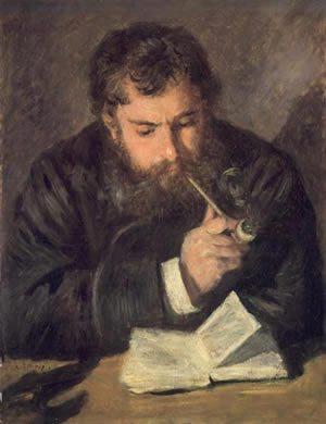 Portrait of Claude Monet, c.1875 by Pierre-Auguste Renoir