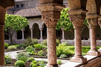Detail: Garden, The Met Cloisters, New York