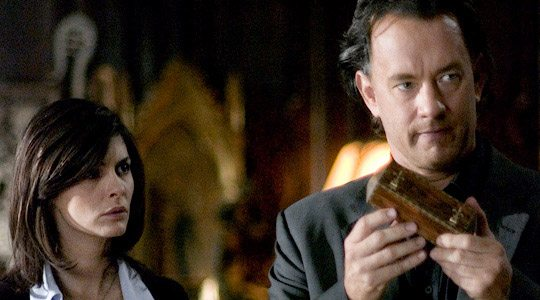Tom Hanks as Professor Robert Langdon, The Da Vinci Code