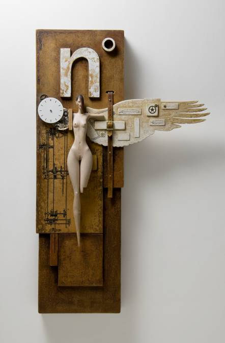 John Morris Sculptor At The Lethbridge Gallery Brisbane