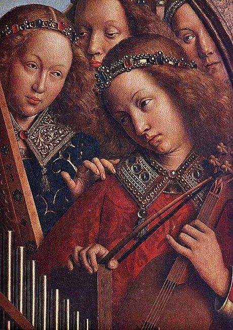 Angles Playing Music